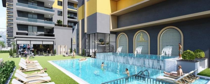 Жилой комплекс в Махмутларе - Айдемир Парк Махмутлар