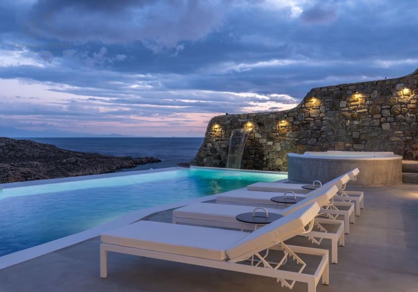 Вилла на берегу Эгейского моря, о.Миконос