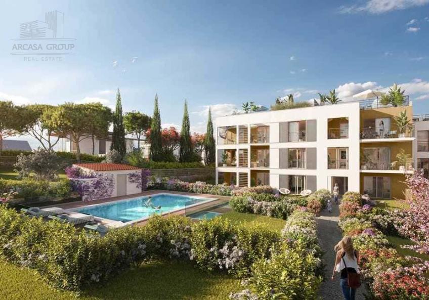 Резиденция 447 Jardin Secret Juan Les Pins