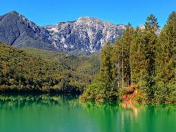 Озеро Барчис Италия