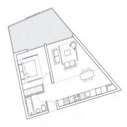 План квартиры в Лимассол, Кипр