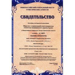 Registry of Travel Agencies 2008