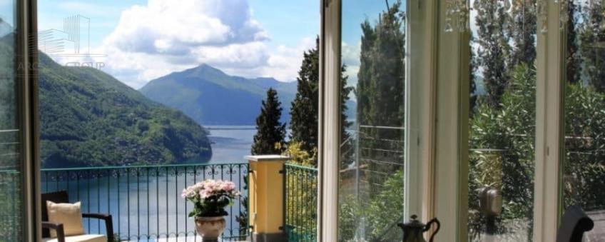 Вилла на озере Лугано, Швейцария